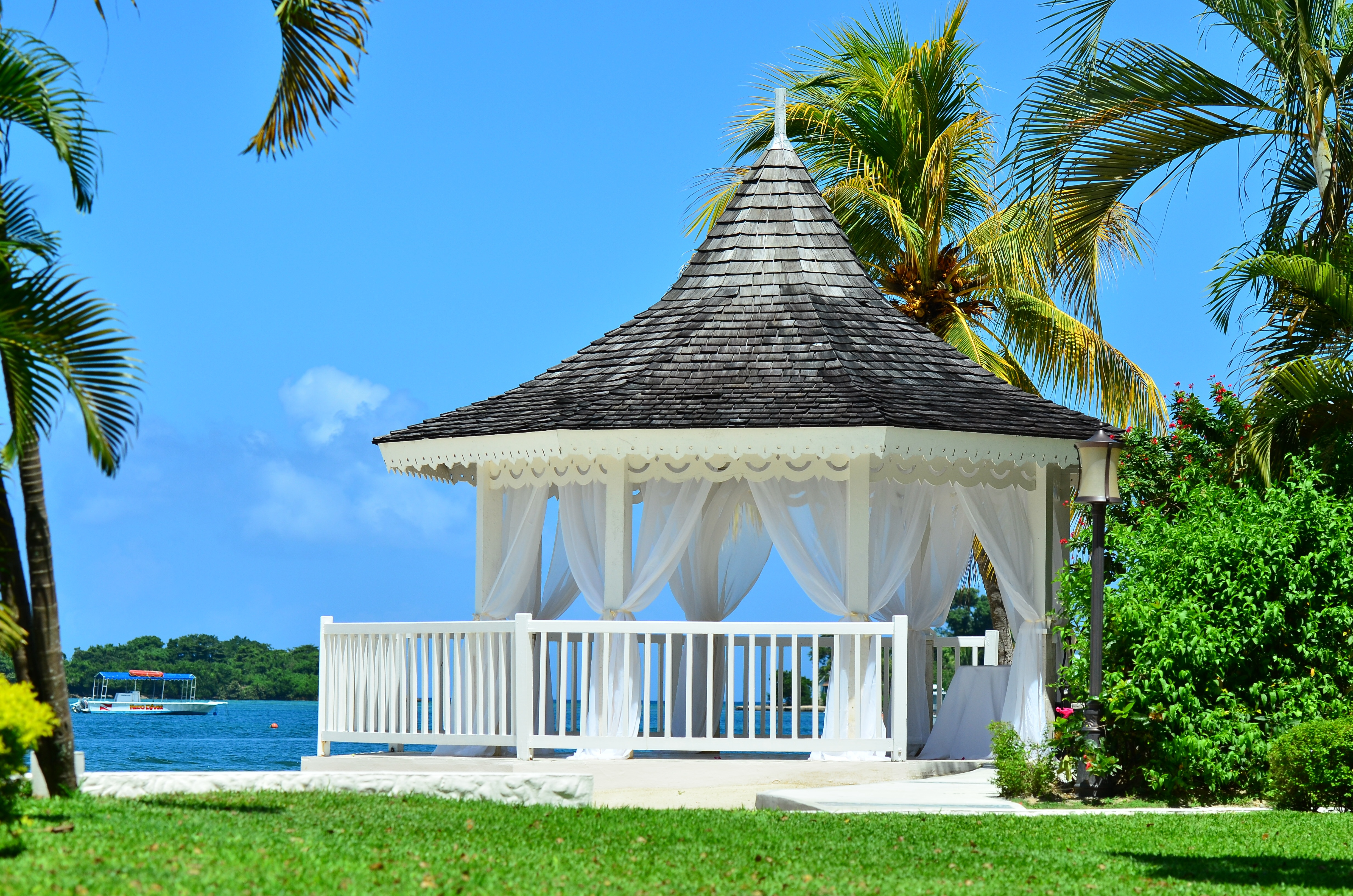 Ceremony Site At Sandals Negril