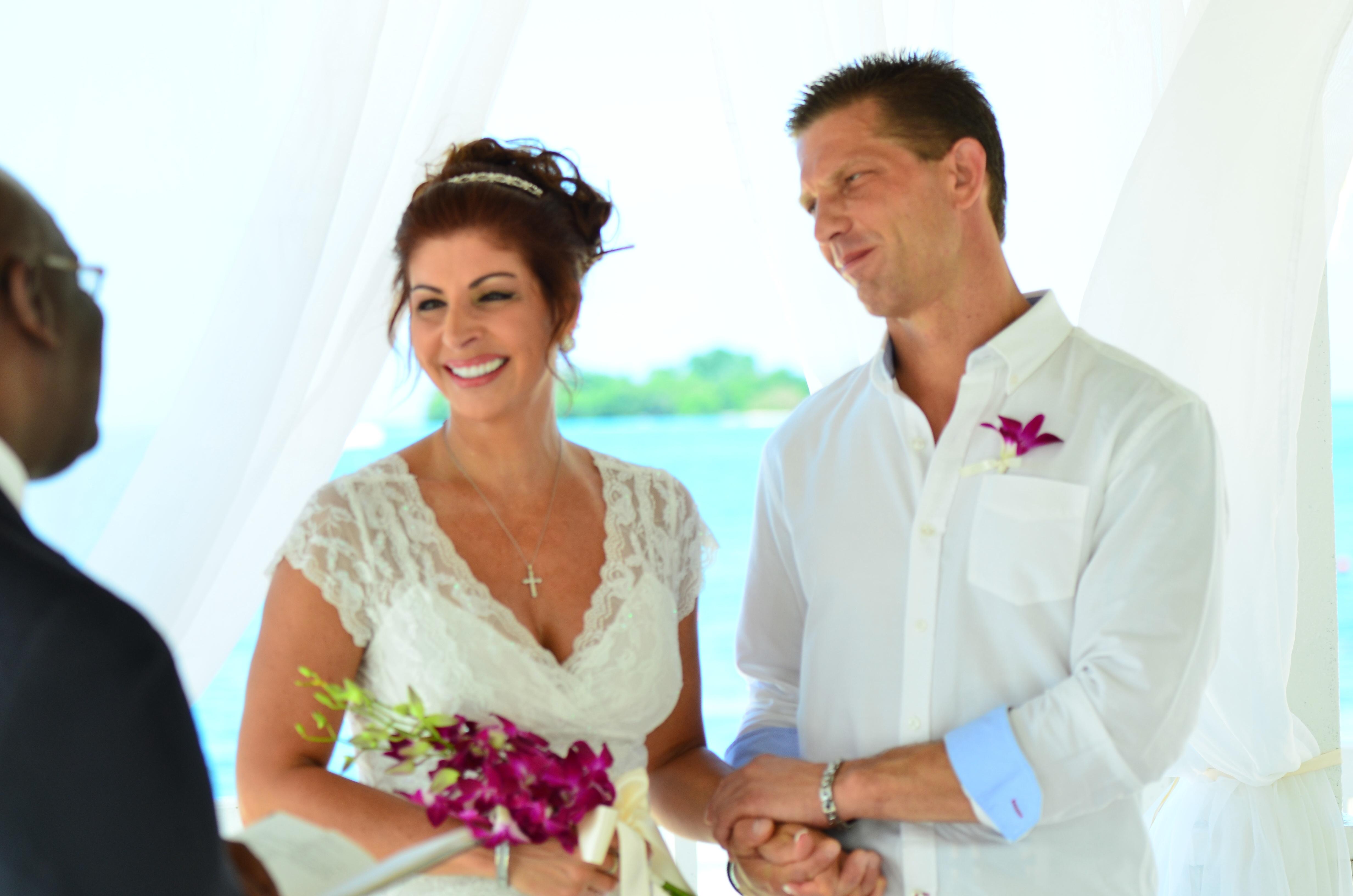 Gina And Johns Destination WeddingmoonR At Sandals Negril