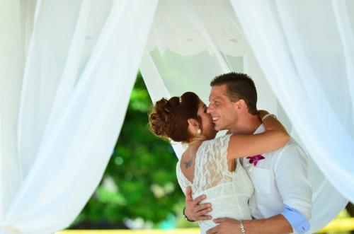 Sandals destination wedding in Jamaica