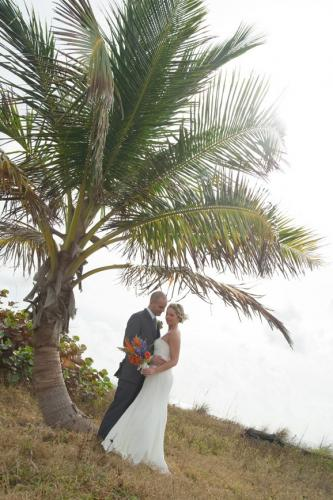 Tropical Beach Wedding at John U. Lloyd State Park, Dania Florida