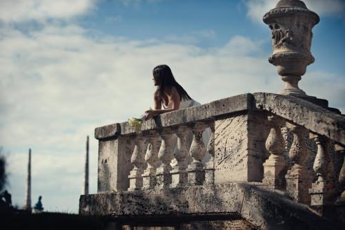 Vizcaya Miami bride