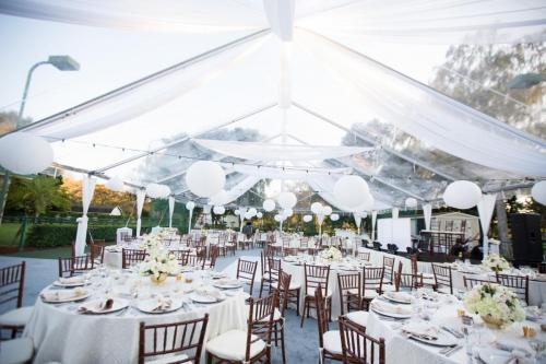 tented wedding reception, Parkland Florida
